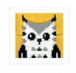 PNV163719 Vervaco Kit Hella (Owl) Long Stitch