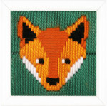 PNV163280 Vervaco Kit Guther (Fox)  Long Stitch