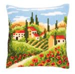 PNV144846 Vervaco Tuscan Landscape Cushion