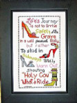 Life's Journey Stitch count 144 X 84. Bobbie G Designs