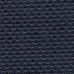 "355308A Midnight Grey; Aida; 16ct; 100% Cotton; 18"" x 25"" Fat Quarter0"