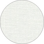 "2520L Optical White; Linen; 30ct; 100% Linen; 18"" x 27"" Fat Quarter; B5200"