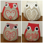 Brodeuse Bressane BB-LO Love Owls With Silk Pack