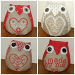 Brodeuse Bressane BB-LO Love Owls