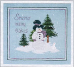 Dinky-Dyes Bush Mountain Designs B-SMF Snow Many Flakes