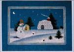 Dinky-Dyes Bush Mountain Designs B-SJH Snowman's Journey Home