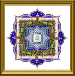CHAT179 The Marrakech Night - small mandala Dinky-Dyes Châtelaine Designs The Marrakech Night - small mandala