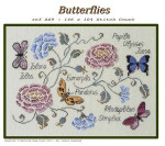 Filigram F-B Butterflies With Silk Pack