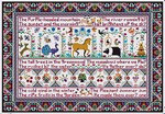 LD18 All Things Bright and Beautiful II Long Dog Samplers