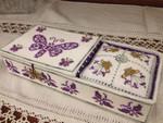 MDD-BSB Butterfly Sewing Box Mani Di Donna