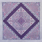 Northern Expressions NE035 Celtic Flutter Stitch Count: 209 x 209