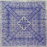 Northern Expressions NE040 Shades of Indigo Stitch Count: 249 x 249 With Silk Pack