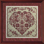 TT-KTMH Key To My Heart Tempting Tangles 112w x 112h With Silk Pack