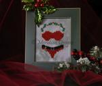 MD-TWBSAN Teenie Weenie Bikinis - Santa Baby (chart & charm) Meridian Designs
