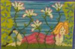 Mary Self Needlepoint Kit Daisy Chain
