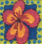Mary Self Needlepoint Kit Frangipani