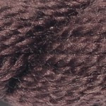 M-1042: Dark Earth Merino Wool Vineyard Silk