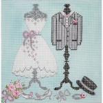 AP2812 Wedding Wardrobe  Alice Peterson 6 x 6 18 Mesh  !
