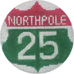 APX282 Northpole Interstate Alice Peterson 4″ ROUND 13 Mesh  !