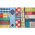 AP2811B Cookbooks Alice Peterson 9 x 16 18 Mesh  !