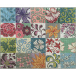 AP2763 Patchwork Collage II Alice Peterson 13 Mesh Design Size 15 x 11.75 !
