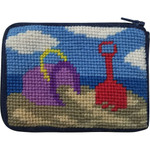 APSZ8102 Beach Play Kids Stitch and Zip  COIN case Alice Peterson Stitch And Zip