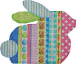 BR-802 Vertical Pattern Bunny 6.5x5.5 18 Mesh Associated Talents
