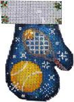 CT-1884 Tennis Mitten 2.75x3.75 18 Mesh Associated Talents