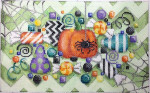 M-211 Halloween Candy Collage 10x6 14 Mesh Associated Talents