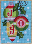 HO436 5 x 7, 18 Mesh JOY Raymond Crawford Designs