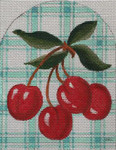 HO1303 Raymond Crawford Designs Cherries Dome 4.5x 5.75 18 Mesh