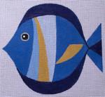 "HO1428 Raymond Crawford Designs Mid Century Modern Fish 6"" long, 18 Mesh"