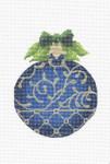 "KAH9-18 September Sapphire  3.75"" x 4.75"", 18 Mesh With Stitch Guide KELLY CLARK STUDIO, LLC"