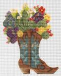 "KCNTX17 Desert Blooms Boot 5"" x 6.5"", 18 Mesh KELLY CLARK STUDIO, LLC"