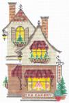 "KWV03-18 The Cakery 5.25"" x 8"", 18 Mesh With Stitch Guide KELLY CLARK STUDIO, LLC"