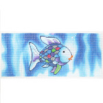 "BB88 Rainbow Fish 6"" x 2.75 18 Mesh Mesh Lee's Needle Arts"