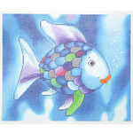 "BF81 Rainbow Fish 10.25"" x 8.25""