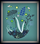 AAN386 Alessandra Adelaide Needleworks Regno delle Lucciole (Realm of Fireflies)