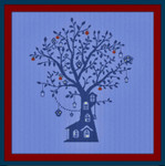 AAN390  Alessandra Adelaide Needleworks Albero dei Dolci Sogni (Tree of Sweet Dreams)