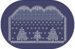 AAN396 Alessandra Adelaide Needleworks Winter Lace