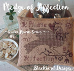 16-1360 Pledge Of Affection (Tender Heart Series) 91w x 79h Blackbird Designs