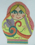 AW-39 Danji Designs ANN WINN Round Gypsy 3 x 4 With Stitch Guide