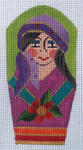 AW-40 Danji Designs ANN WINN Gypsy 2 x 4 1/4 18 Mesh With Stitch Guide