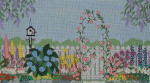 175 Danji Designs The Garden Gate 13 ½ x 7 18 Mesh  With Stitch Guide