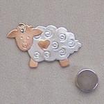 05-13 BO-PEEP SHEEP NEEDLE NANNY Puffin And Company