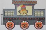 473E NeedleDeeva 5.25 x 8.25 18 Mesh Halloween Train - Caboose