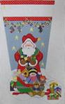 1356A NeedleDeeva 14x22 13 Mesh Santa and the Sleigh