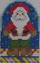 1353A NeedleDeeva 18Mesh 1.75 x 2.6 Santa Claus
