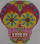 454B NeedleDeeva 4.25 X 4.5 18 Mesh Mini Skull B