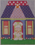 604B NeedleDeeva 4.25 x 5.25 18 Mesh Benjamin Bunny's House